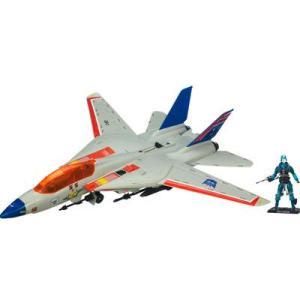 SDCC 2011 Hasbro G.I Joe Sky Striker with Transformers Starscream Deco and Cobra Commander Figure