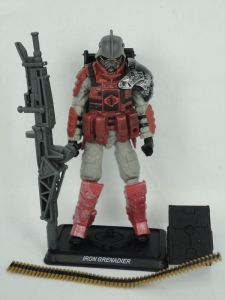 Hasbro G.I. Joe 30th Anniversary Wave 1 Iron Grenadier