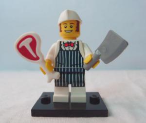 LEGO Collectible Minifigure Series 6 Butcher