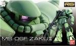 Bandai RG 1/144 Real Grade MS-06F Zaku II Gundam