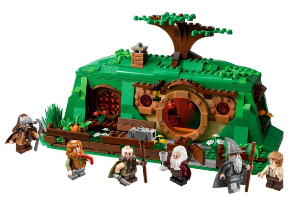 LEGO The Hobbit Bag End First Showcased at San Diego Comic-Con 2012