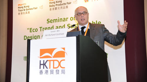 Richard Gottlieb Speaking at HKTDC
