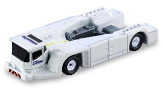 White Tomica Komatsu Towbarless Tractor WZ4000