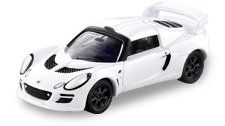 White Tomica Lotus Exige S