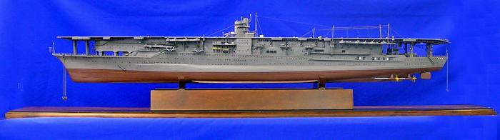Japanese aircraft carrier Akagi Ship