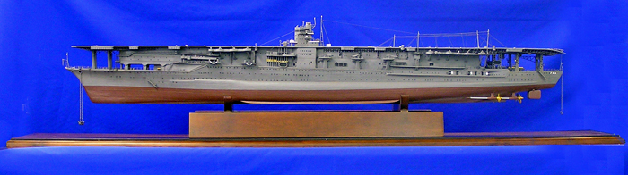 Japanese aircraft carrier Akagi Ship