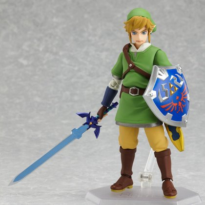 Figma Link With Master Sword and Hylian Shield