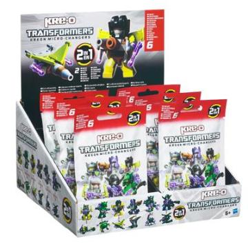 Hasbro KRE-O TRANSFORMERS KREON MICRO-CHANGERS Figures Case Pack