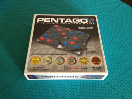 MindtwisterUSA Pentago Game Box on Table