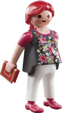 Pregnant Playmobil Figure from Fi?ures series