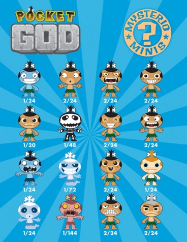 16 Pocket God Mysterio Minis Poster
