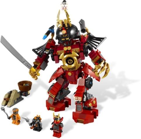 9448 Samurai Mech Ninjago With Samurai X, Snike and Bytar