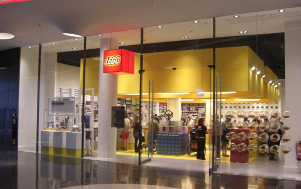 A LEGO Brand Retail Store in Frankfurt
