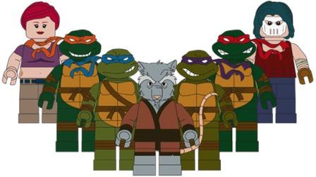 LEGO Teenage Mutant Ninja Turtles Figures