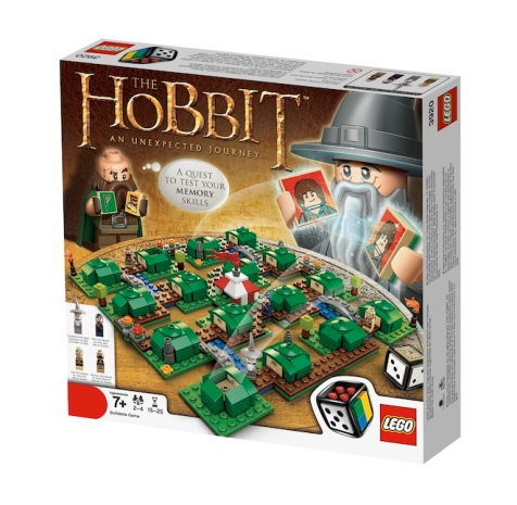 LEGO The Hobbit An Unexpected Journey Front of Game Box