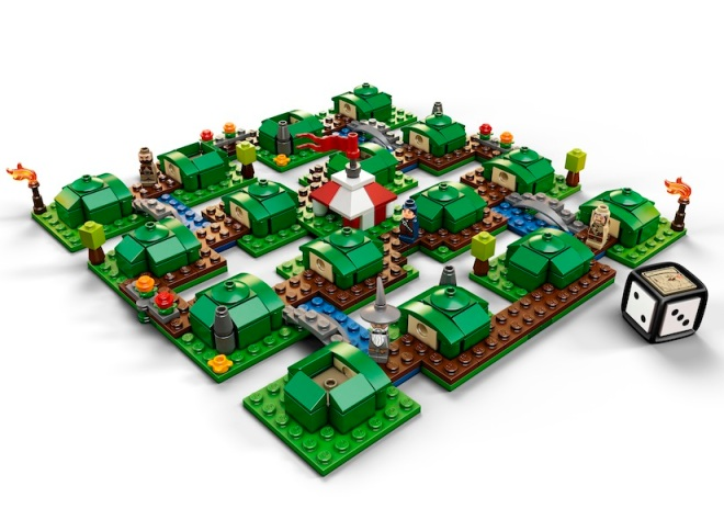 LEGO The Hobbit An Unexpected Journey Game Board and Dice