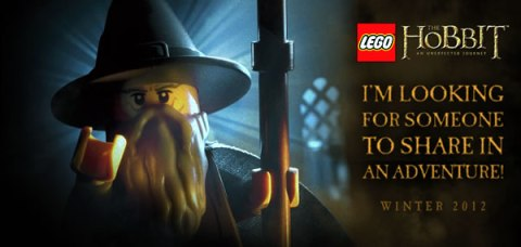 LEGO The Hobbit with Gandalf the Grey