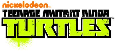 Nickelodeon Teenage Mutant Ninja Turtles Logo Black and Green