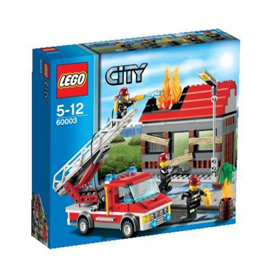 LEGO 60003 Firefighters Burning House