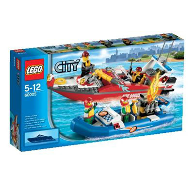 60005 LEGO City Fire Boat 2013