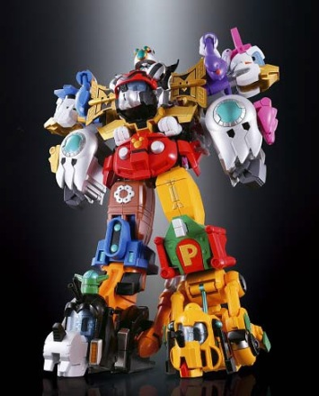 Bandai Disney Chogodai King Robo Mickey & Friends Chogokin