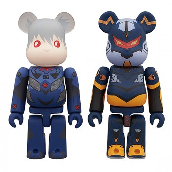 BE@RBRICK EVANGELION-2.0 YOU CAN (NOT) ADVANCE. 2 Piece Set D