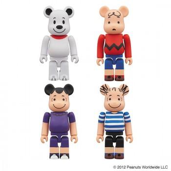 Medicom Be@rbrick Snoopy Charlie Brown Lucy Linus - Peanuts Gang