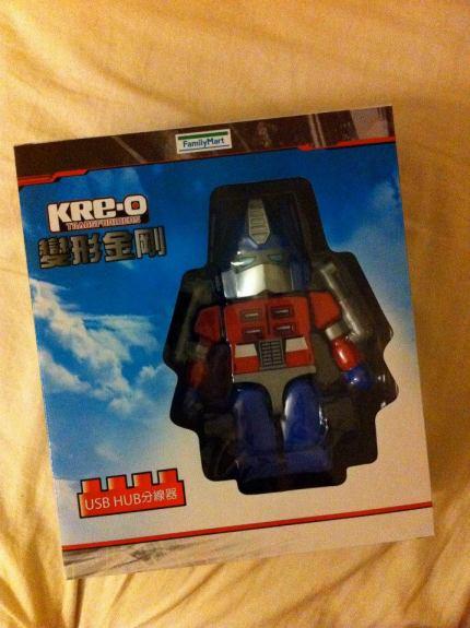 Family Mart Exclusive Jumbo Kreon Optimus Prime USB Hub