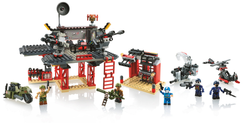 KRE-O G.I. JOE BATTLE PLATFORM ATTACK set