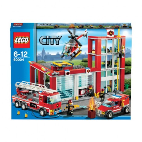 LEGO City 2013 60004 Fire Department HQ