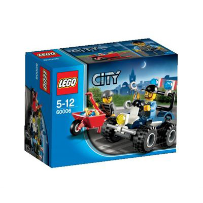 LEGO City 2013 60006 Police Quad Bike