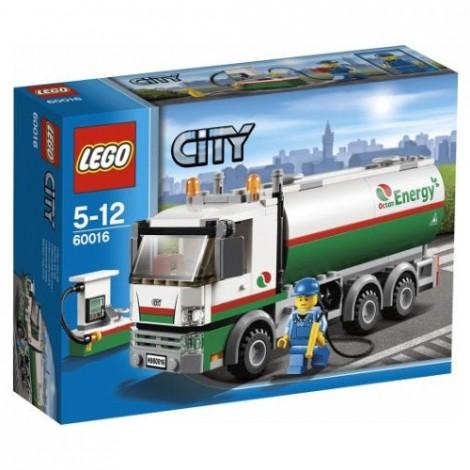 LEGO City 2013 60016 Octan Tank Truck