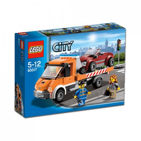 LEGO City 2013 60017 Flatbed Truck