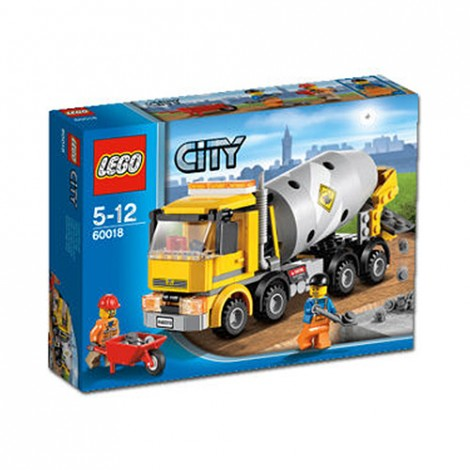 LEGO City 2013 60018 Cement Mixer