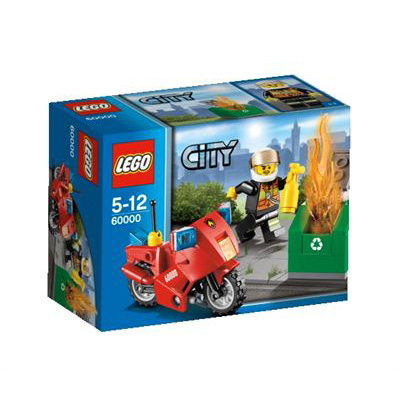 LEGO City 60000 Fire Department Chief Motorbike