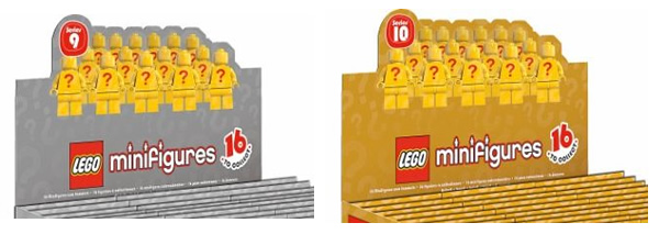 Series 9 Silver Packaging and Series 10 Gold Packaging