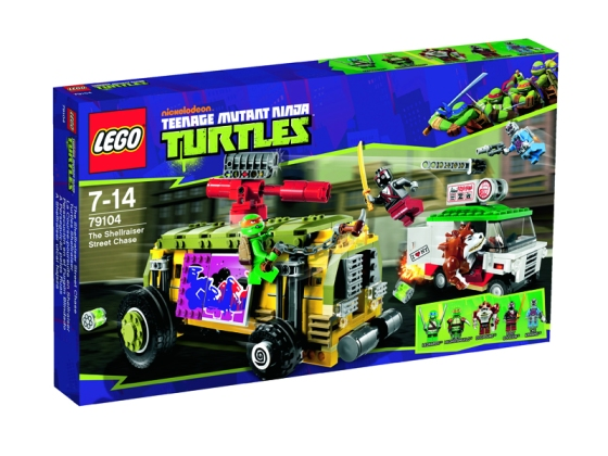 LEGO Nickelodeon Teenage Mutant Ninja Turtles The Shellraiser Street Chase Box