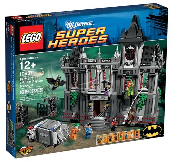 Batman Arkham Asylum LEGO Set