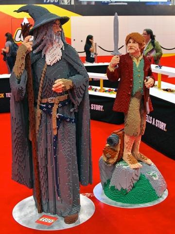 LEGO Gandalf The Grey and Bilbo Baggins
