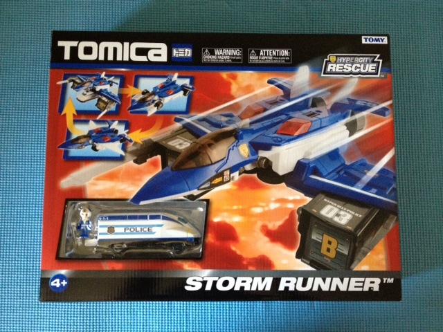 Tomica HyperCity Rescue Police Storm Runner