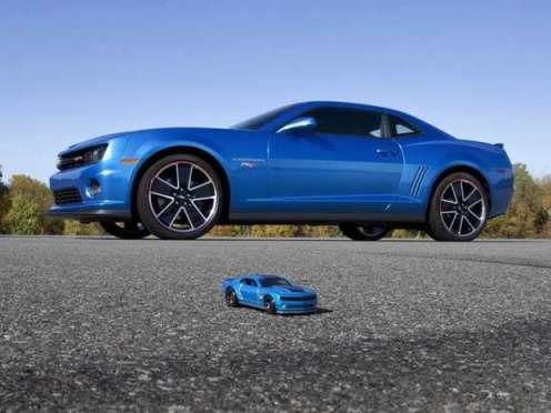 Blue 2013 Chevrolet Camaro Hot Wheels Edition