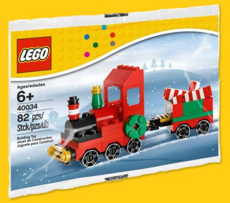 LEGO Chrstmas Train 40034