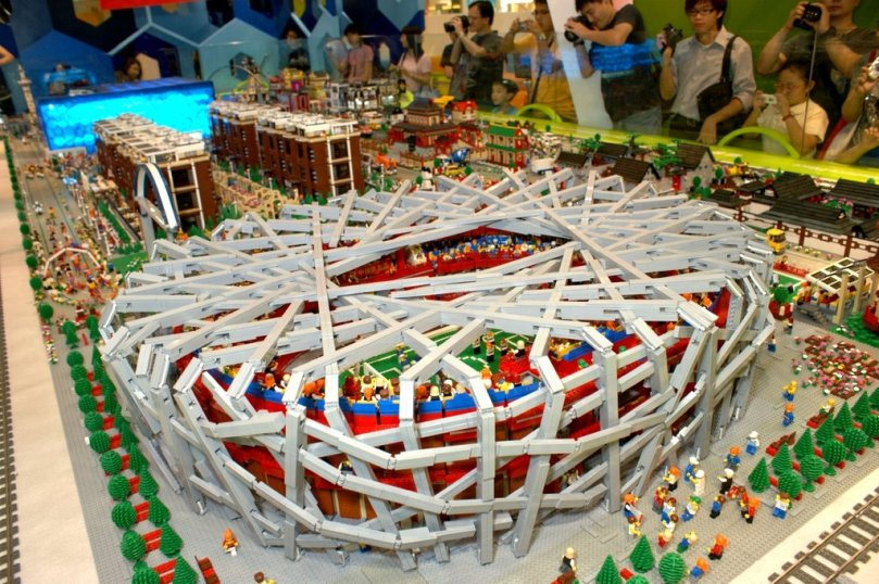 LEGO Beijing National Stadium