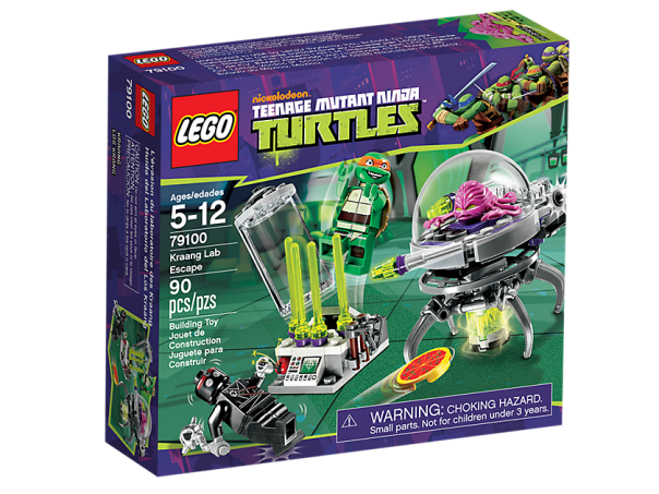 LEGO Teenage Mutant Ninja Turtles 79100 Kraang Lab Escape Box