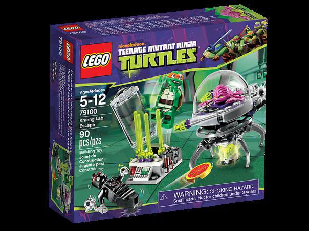 LEGO Teenage Mutant Ninja Turtles 79100 Kraang Lab Escape Box