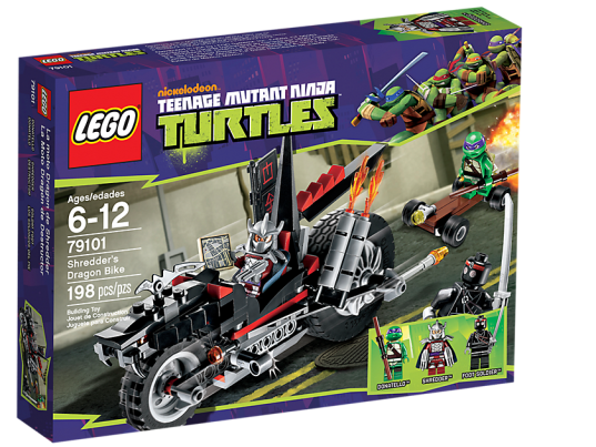 LEGO Teenage Mutant Ninja Turtles 79101 Shredder's Dragon Bike Box
