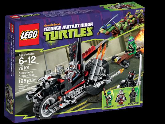 LEGO Teenage Mutant Ninja Turtles 79101 Shredder's Dragon Bike Box