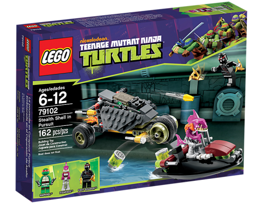LEGO Teenage Mutant Ninja Turtles 79102 Stealth Shell in Pursuit Box