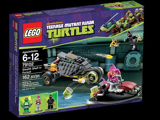 LEGO Teenage Mutant Ninja Turtles 79102 Stealth Shell in Pursuit Box