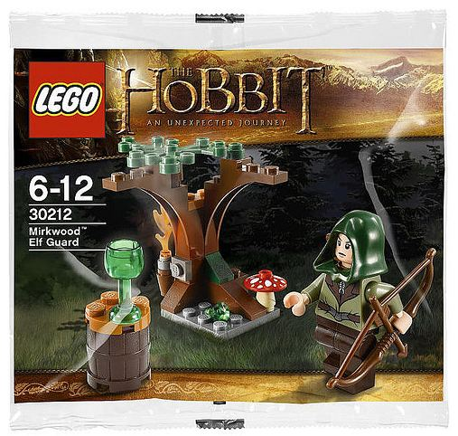 LEGO The Lord Of The Rings Mirkwood Elf Guard 30212